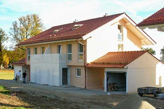 Neubau doppelhaus for Architekturburo rosenheim