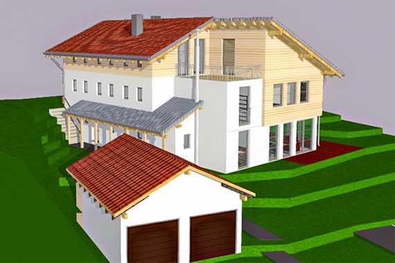 Anselm kanno architekt architektur architekturb ro for Architekturburo rosenheim